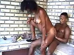 Black guy fucks pregnant ebony doll